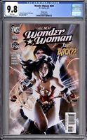 Wonder Woman 609 CGC Graded 9.8 NM/MT Alex Garner Variant DC Comics 2011