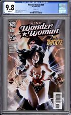 Wonder Woman 609 CGC Graded 9.8 NM/MT Alex Garner Variant DC Comics 2011