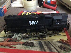 Norfolk & Western NW 4159 GP38 Hi-Nose Diesel Locomotive Life Like HO