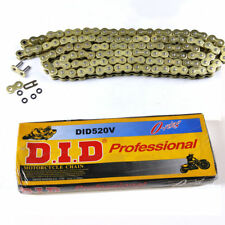 DID 520HV O-Ring Chain 120 Links ATV Motorcycle MX GOLD 520 Pitch