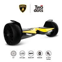 "Lamborghini 8.5"" Smart Electric Hover Scooter Bluetooth Speaker UL Certified APP"