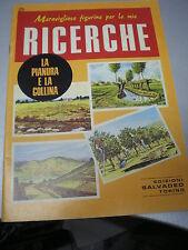 FIGURINE RICERCHE SALVADEO n. 25 LA PIANURA E LA COLLINA, 1983