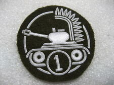 .Poland Polish Army Patch Tanker 1 class /enlisted