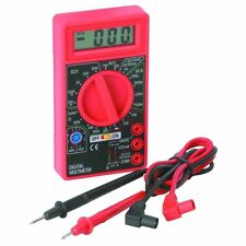 Digital Multimeter DMM Test Leads Volt Transistor Resistor Ohm Current Amp Meter