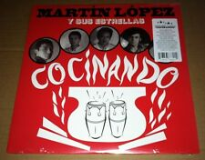 MARTIN LOPEZ Cocinando ONLY 500 MADE SEALED LP Vinyl &DOWNLOAD from MASTER TAPES