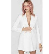blazer bianco donna Abito Doppiopetto