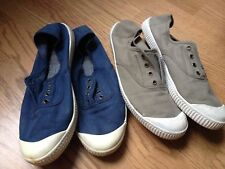 Sneakers lona T 40, dos pares