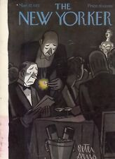 1951 New Yorker March 17 - Dark Manhattan night Club - and no cell phone light