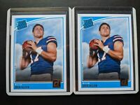 (2) 2018 Panini Donruss Josh Allen Rated Rookie Two Card Lot