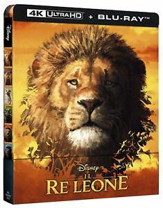Il Re Leone (2019) (4K Ultra HD + Blu-Ray Disc - SteelBook), nuovo sigillato