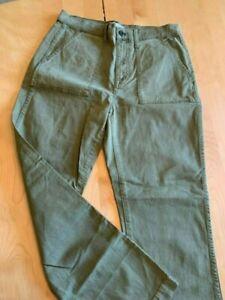 Las Mejores Ofertas En Pantalones Verde Militar Madewell Para De Mujer Ebay