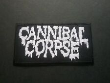 PUNK ROCK HEAVY METAL MUSIC SEW / IRON ON PATCH:- CANNIBAL CORPSE