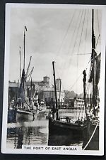 PORT OF IPSWICH   Suffolk  East Anglia   Vintage  Photo Card  VGC