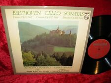 1965 NM PHILIPS SGL 5870 STEREO BEETHOVEN SONATAS FOR CELLO AND PIANO VOL 2 SONA