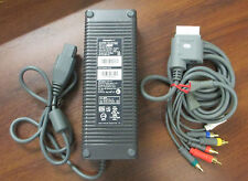 Microsoft XBOX 360 150W Power Supply Brick & HD Component Cable!!