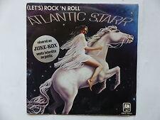 ATLANTIC STARR Let's rock n roll AMS 7606 STICKER JUKE BOX