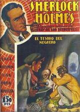 FAC SIMILÉ ESPAGNOL SHERLOCK HOLMES HARRY DICKSON EL TESORO DEL NEGRERO