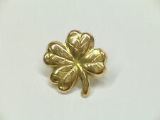 Spilla da giacca (pins) Quadrifoglio portafortuna in Oro giallo 750 - 18 Kt