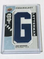2018-19 UPPER DECK CHRONOLOGY LETTERMAN /35  ANDY BATHGATE L-NYR-AB RANGERS