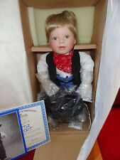 "ASHTON DRAKE Porcelain Doll ""LITTLE BANDIT "" ADORABLE NRFB"