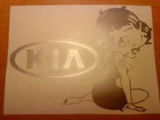 BETTY BOOP Ragazze Girly VINILE Auto Adesivo Wall Art Divertente Decalcomania Grafica Retrò Rosa