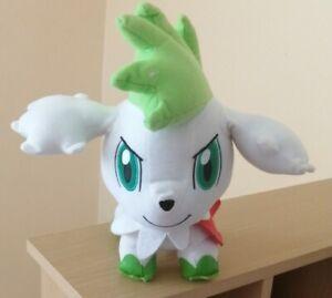 "Official Pokemon Banpresto 2009 Sky Form Shaymin DX UFO Plush Soft Toy Japan 10"""