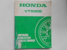 SUPPLEMENT AU MANUEL D'ATELIER HONDA VT500E VT 500E