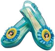 Jasmine Sparkle Shoes Disney Princess Aladdin Halloween Child Costume Accessory