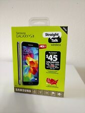 Straight Talk Samsung Galaxy S5 16GB 4G LTE PREPAID *Wont Sell to New Buyers.
