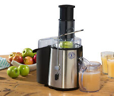 Hairy Bikers Brushed Stainless Steel Healthy Fresh Power Juicer Juice Maker