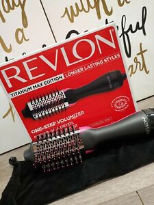 "Revlon RVDR5282CT One-Step Hair Dryer Comb  Volumizer Titanium Max Edition ""New"""