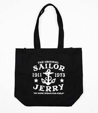 Sailor Jerry My Work Speaks For Itself Punk Goth Rocker Scene Tote Bag Purse
