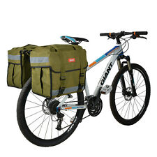 XXF MTB Cycling Panniers Bag Waterproof Bicycle Bag Rear Carriers Bag Green New