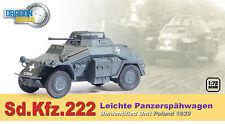 DRAGON ARMOUR 1/72 MILITAIRE Sd.Kfz.222 Leichte Panzerspahwagen POLOGNE 1939 423