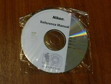 New Nikon OEM Genuine CD with User's Guide Instructions Manual for Coolpix L610