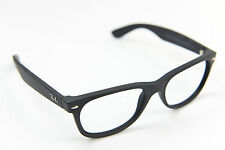 NEW Ray-Ban black sunglasses RB2132 NEW WAYFARER 622/58 55-18 145 3p  FRAME ONLY