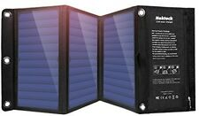 21W Portable Solar Charger 2 USB Slots Foldable Phone Fast Power iPhone Panels