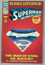 Superman: The Man of Steel 22 [Die-Cut Cover Edition] (Jun 1993, DC)