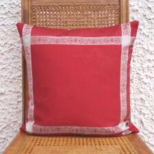 Kissenbezug Kissenhülle Angel 40 x 40 cm 100% rot Baumwolle Weihnachten