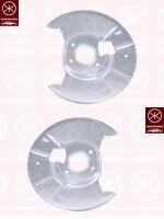 Ankerblech Spritzblech Hitzeschutzblech Satz hinten Mazda 6 GG GY Bj. 02-07