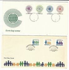 Singapore: 2 First day cover year 1983. Si06