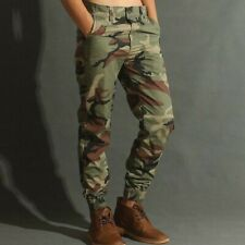 Military Mens Camo Army Pants Slim Outdoor Combat Trousers Tactical Sports Pants