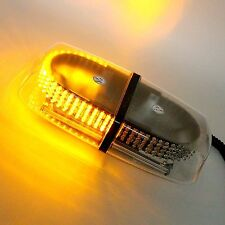 HOT Amber 240 LED Light Mini Bar Roof Top Emergency Hazard Warning Flash Strobe