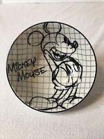 NEW Disney Mickey Mouse Sketch Drawing Tidbit Bowl~ 90th Anniversary