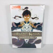 New The Legend of Korra The Complete Series Dvd Nickelodeon Free Shipping Sealed