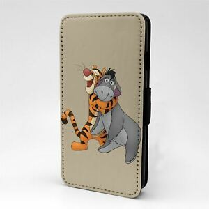 For Mobile Phone Flip Case Cover Winnie The Pooh Tigger Eeyore - G1330