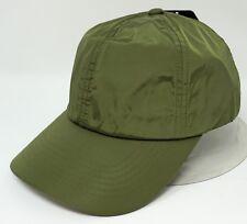 Outdoor Sport Cap Rain Sun Waterproof Unconstructed Dad Hat Adult OSFM Olive New