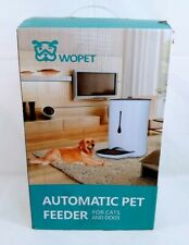 New listing Wopet Automatic Pet Feeder