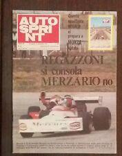 53221 Autosprint a. XV n. 35 1975 - Regazzoni; MANIFESTO DI MONZA