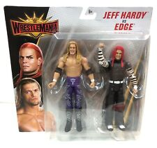 WWE Wrestling Figure Battle Pack WrestleMania Jeff Hardy and Edge